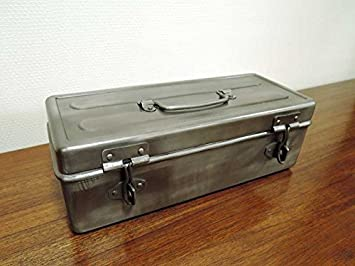 7d210a8033 アルミ ツールボックス 工具箱 小物入れ 収納 シルバー アンティーク風 クラシック レトロ アジアン雑貨 北欧