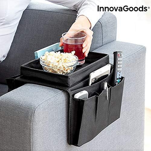 InnovaGoods Bandeja para Sofá con Organizador de Mandos, 54 x 31 x 4 cm: Amazon.es: Juguetes y juegos