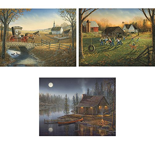 Sam Timm Set Of 3 - 1000 Piece Jigsaw Adult Puzzle's, Contains...