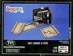 Verlinden 1:35 GMC-Engine & Case Multi-Media Diorama Accessory #524 by Verlinden