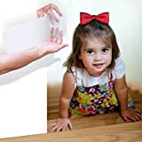 """StepStrips StepTips Anti Slip Tape ''Stair Treads'' Clear / Transparents for Safety Non Slip Grip 20 Pack 4"""" x 12"""" Pre Cut Skid Strips Traction Non Abrasive PVC FREE for Bare Feet Kids, Elders & Dogs"""