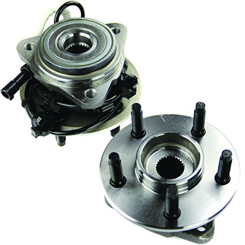 MOTORMAN 515003 Front ABS Wheel Hub and Bearing Set - Both Left and Right - Pair of 2