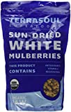 Terrasoul Superfoods Sun-dried White Mulberries (Organic), 16-ounce