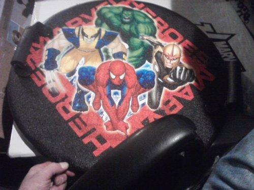 Marvel Heros Snow Sled - Round Disc Sled