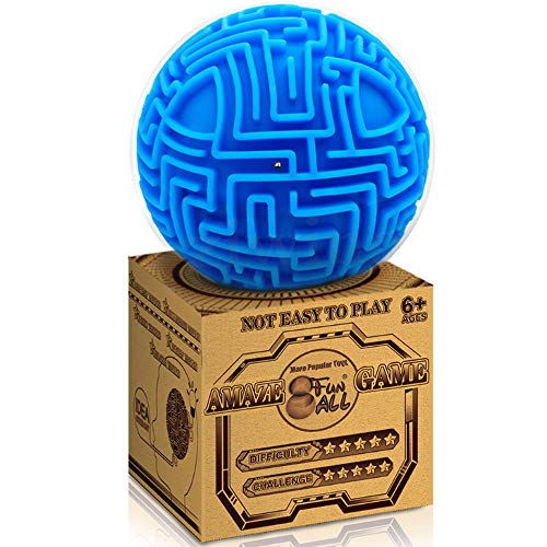 3D Puzzle Toy Gravity Maze Ball Brain Teasers Games Gifts for Kids Adults - Hard Challenges 2019 NEW