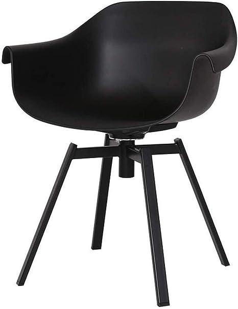 Chaise de cuisine 'PLEZ' noire en matière plastique Achat