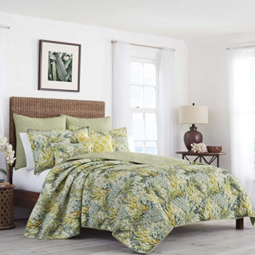 Tommy Bahama Cuba Cabana Quilt Full/Queen Green