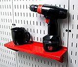 """Wall Control ASM-SH-1604 R 4"""" Deep Pegboard Shelf"""