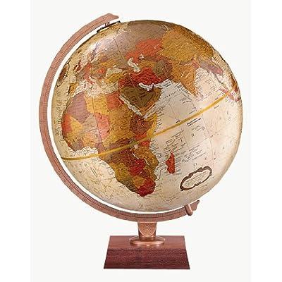 Replogle Globes Northwoods Globe, 12-Inch, Bronze Metallic: Replogle Globes: Home & Kitchen