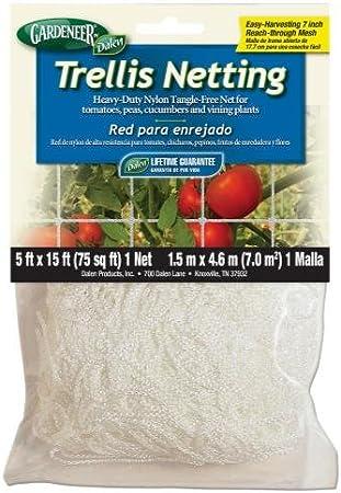 Plant Trellis Netting 5*15ft or 5*30ft Fence Climb Net Heavy-Duty Nylon Lumo-X