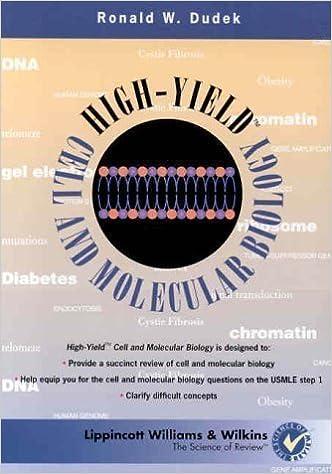 Kết quả hình ảnh cho High-Yield cell & molecular biology 1st edition