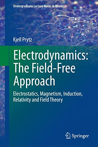 Electrodynamics: The Field-Free Approach: Electrostatics, Magnetism, Induction, Relativity and Field Theory (Undergraduate Lecture Notes in Physics)