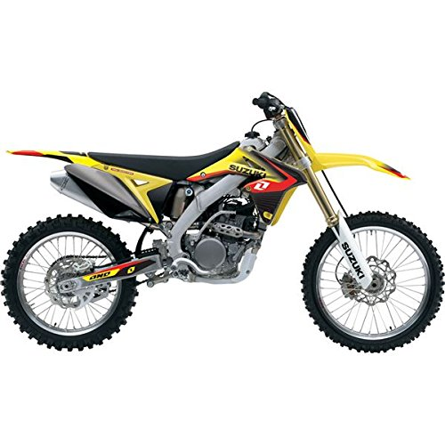 2012 ONE INDUSTRIES DELTA GRAPHICS KIT - SUZUKI RMZ 250 - 2010-2013 (One Industries Suzuki Graphics)