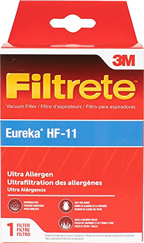Amazon.com - 3M Filtrete Eureka HF-11 Ultra Allergen Vacuum Filter - 1 filter - Household Vacuum Filters Upright