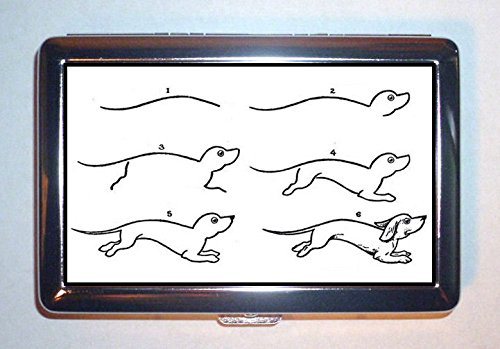how to draw a dachshund - 2