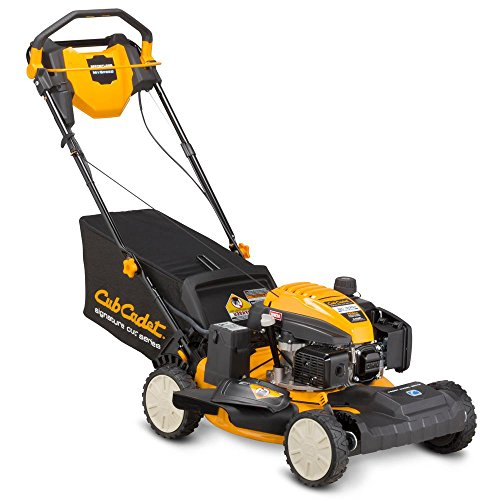 (CUB CADET 21 in. 159cc Front-Wheel Drive 3-in-1 High Rear Wheel Gas Self Propelled Walk Behind Lawn Mower)