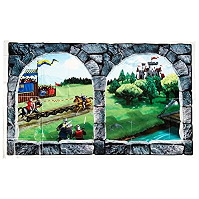 Castle Window Insta-View Party Accessory (1 count) (1/Pkg): Kitchen & Dining