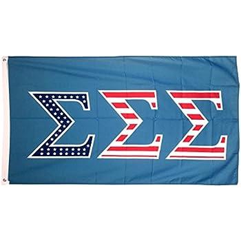 Sigma Sigma Sigma 80s Letter Sorority Flag Banner 3 x 5 Sign Decor ...