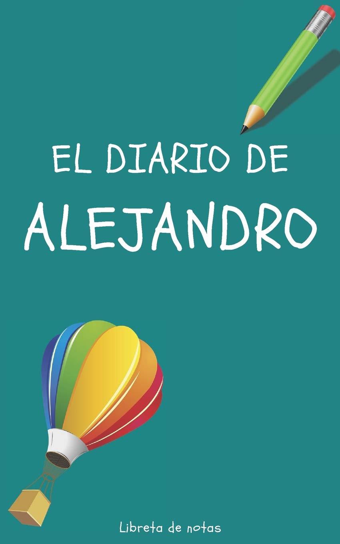 Amazon.com: El Diario de Alejandro Libreta de Notas ...