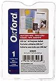 Oxford 65003 Utili-jacs clear vinyl envelopes, top load, 2-1/4x3-1/2 insert size, 50/box Style: 2-1/4x3-1/2 insert, Model: 65003, Office/School Supply Store