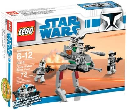 LEGO Star Wars Clone Walker Battle Pack (8014) (Discontinued by ...