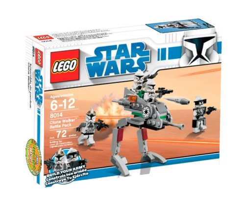 Lego Star Wars Clone Walker Battle Pack  8014   Discontinued By Manufacturer