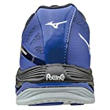 Mizuno Women's Wave Lightning Z2 Volleyball Shoes - Black & Royal