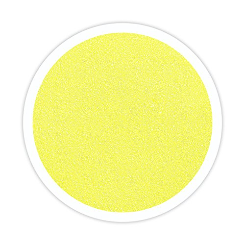 Sandsational Sparkle Lemon Yellow Unity Sand, 22 oz, Colored Sand for Weddings, Vase Filler, Home Décor, Craft Sand