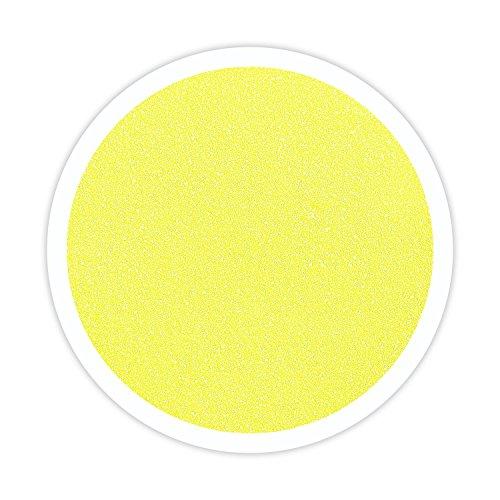 Sandsational Sparkle Lemon Yellow Unity Sand, 22 oz, Colored Sand for Weddings, Vase Filler, Home Décor, Craft Sand