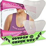 Cheap Enliven Salon Products Anti Wrinkle Chest Pads, Cream Less Skin Care At Its Finest, 2 Hypoallergenic Silicone Chest Wrinkle Pads That Rejuvenate The Decollete, and Repair Fine and Deep Chest Wrinkles