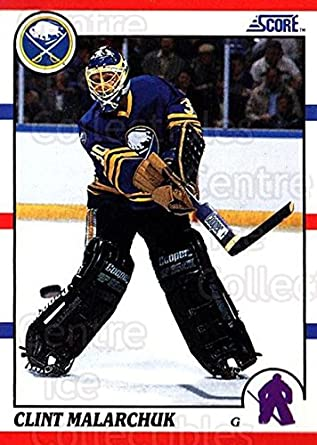 Amazon Com Ci Clint Malarchuk Hockey Card 1990 91 Score Usa 289