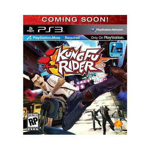 New Sony Playstation Kung Fu Rider Action/Adventure Game Standard 1 User Retail Playstation 3