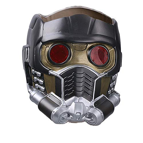JCvCX Star Lord Cosplay Soft PVC Mask Horrible Costume Helmet for Guardians of The Galaxy Peter Quill]()