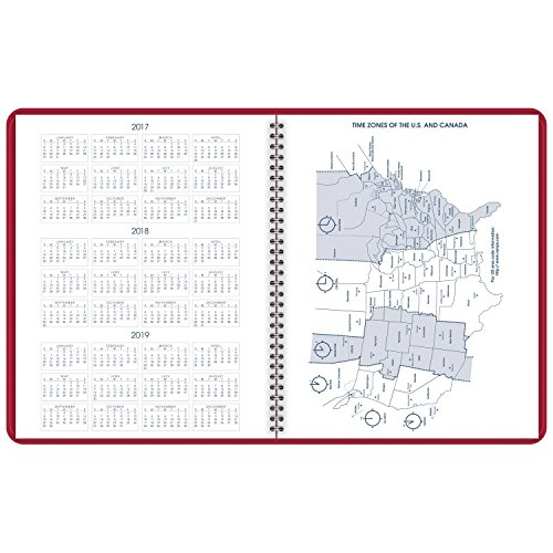 AT-A-GLANCE Monthly Planner, January 2018 - March 2019, 9
