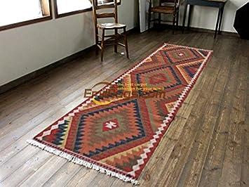 Grenss Laufer Teppich Nationalen Stil Turkische Kirim Flur Bett