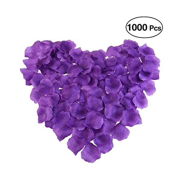 PIXNOR-1000pcs-Silk-Rose-Petals-Decorations-for-Wedding-Party-Purple