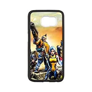 Samsung Galaxy S6 Cell Phone Case Black Borderlands 2 Custom DSAMKSANJ2138