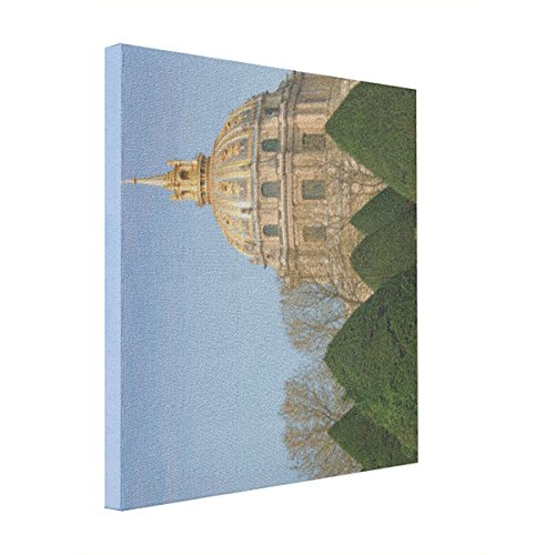 ACBshop Home Decoration View Of Les Invalides Eglise Du Dome Canvas Print Custom Stretched Canvas Print Canvas Picture Photo Prints on Canvas Art for Wall, Christmas Gift