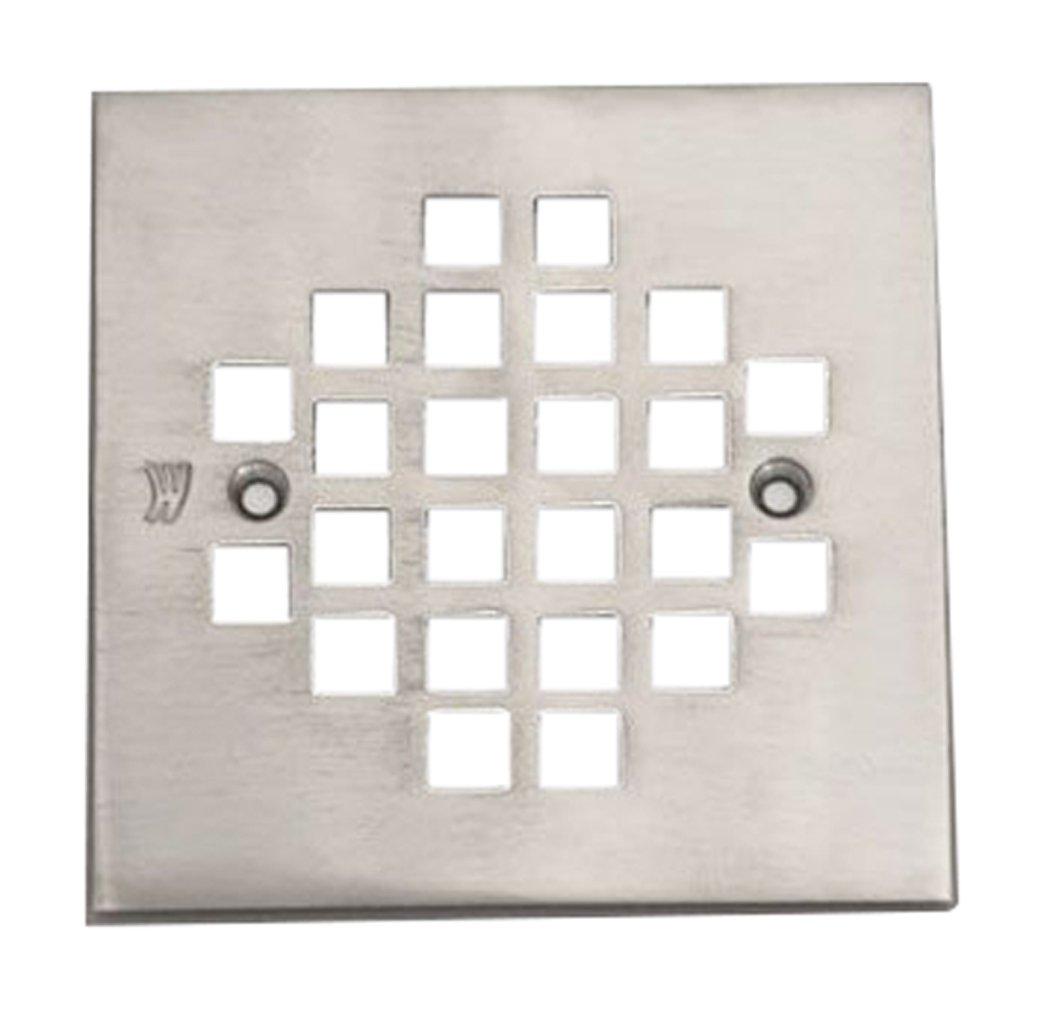 最高 Jaclo 6264-sn正方形シャワー排水プレート、4 – 1 – 1/ B0141FDO0C 4インチ、サテンニッケル B0141FDO0C, Belle Vie:c8dc5134 --- yelica.com