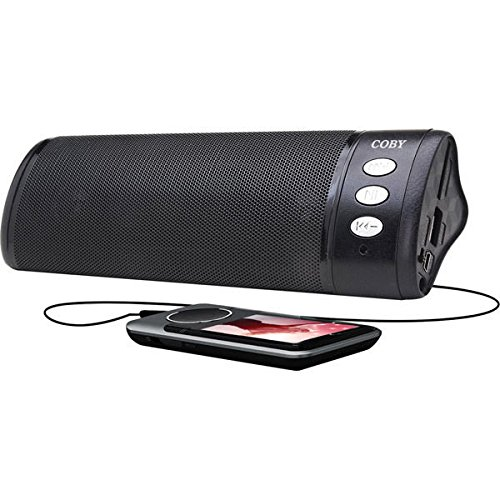 Coby CSMP49 Portable Speaker System (Black) (Discontinued by manufacturer)