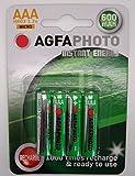 4 x AAA NiMh Cordless Telephone Rechargeable Batteries - Amplicom, Audioline, Binatone, BT (inc Diverse, Studio, Graphite, etc), Doro, Gemarc, iDect, MagicBox, Panasonic, Philips, Sagem, SagemCom, Siemens