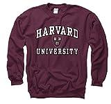 Shop College Wear Harvard University Men's Hoodie Sweatshirt-Maroon