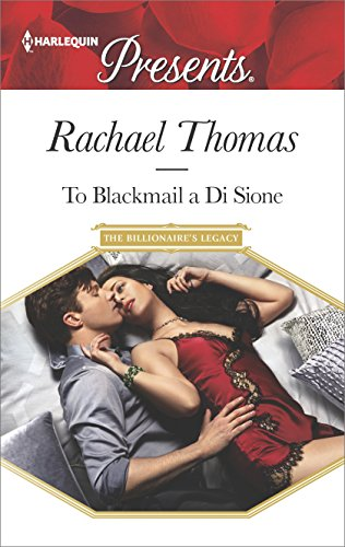 To Blackmail A Di Sione by Rachael Thomas