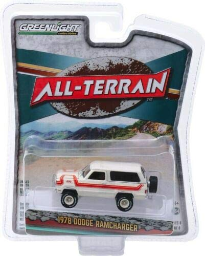 Greenlight 35130-C All-Terrain Series 8-1978 Dodge Ramcharger Top Hand 1:64 Scale