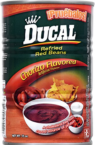 Ducal Refried Red Beans with Chorizo Flavor, 15 Ounce (Pack of 24) by Ducal (Image #3)