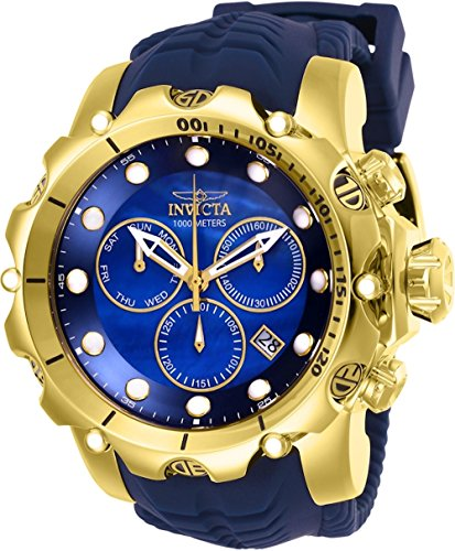 Invicta Dragon - Invicta Men's 52mm Venom Sea Dragon Gen II Swiss Quartz Chronograph Strap Watch (26245)