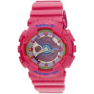 51hTIZPVJ7L. SS300  - Casio Baby-G BA112-4A 3D Dial Analog Digital Watch