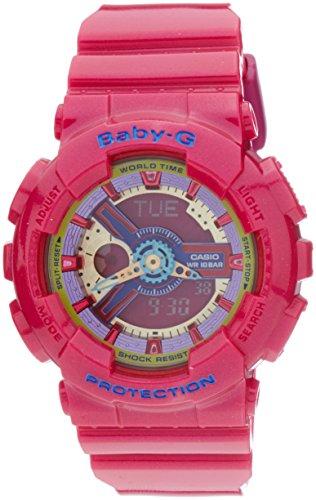Casio Baby-G BA112-4A 3D Dial Analog Digital Watch