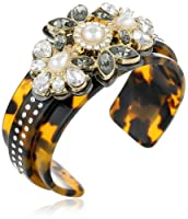 "Carolee LUX ""What A Girl Wants"" Cuff Bracelet, 2"" by Carolee LUX"