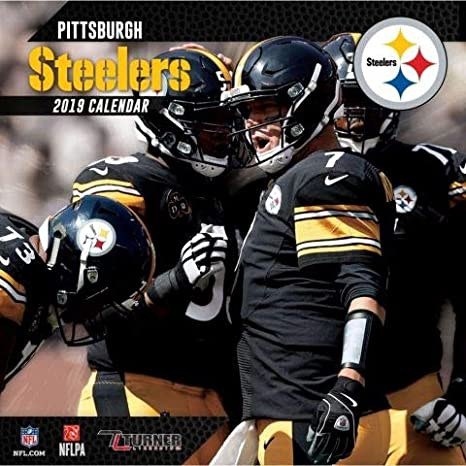 Pittsburgh Calendar 2019 Amazon.com: 2019 Pittsburgh Steelers NFL Sports TEAM Wall Calendar